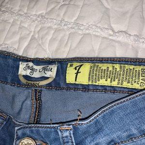 Indigo Rein Jeans - Indigo Rein Blue Skinny Jeans